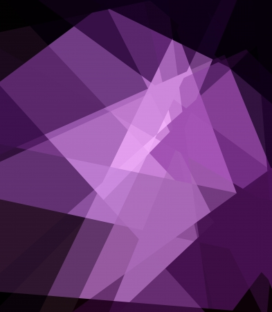 colorfuls: Purple Cubism Crystal Abstract Background With Light Ray Stock Photo