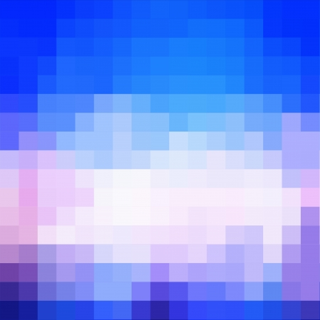 Blue Square Abstract Background With Light Ray photo