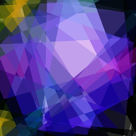 damasks: Colorful Cubism Crystal Abstract Background For Design Stock Photo