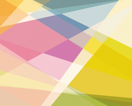 Colorful Cubism Abstract Background For Design