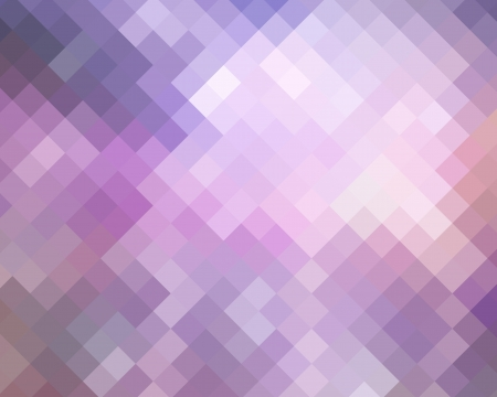 argyles: Purple Mosaic Diamond Abstract Background For Design