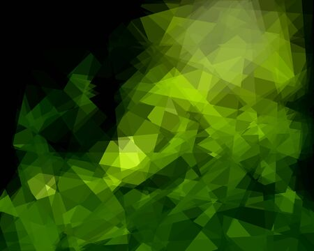 retros: Green Abstract Background For Design Stock Photo