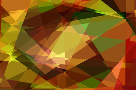 cubism: Abstract Cubism Background For Design Stock Photo