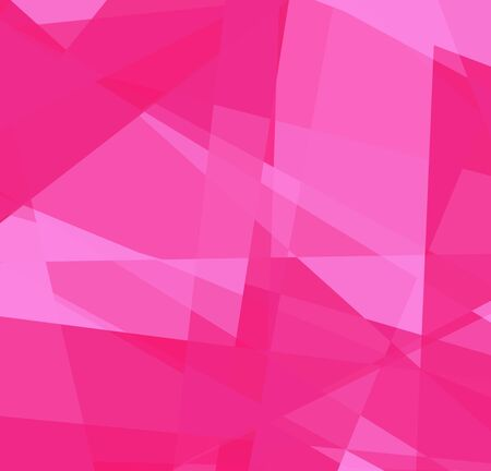 Pink cubism art background for design photo