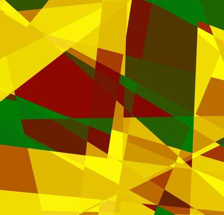 Retro cubism art background for design photo