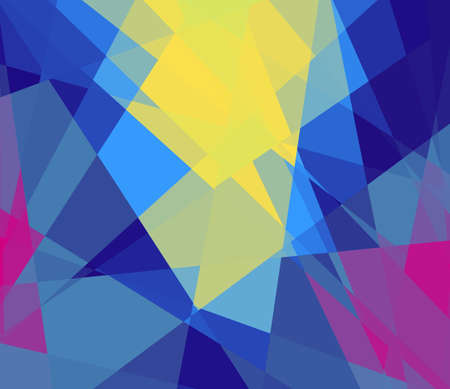 Colorful cubism art background for design photo