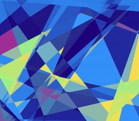 cubismo: Cubismo Retro fondo de arte