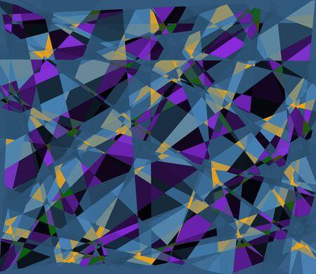 Cubism art background photo