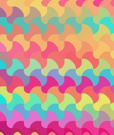 Colorful seamless pattern background photo