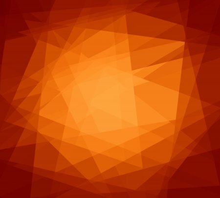 cubism: Orange abstract cubism art graphic design background