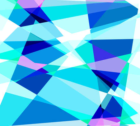 Crystal cubism art background photo