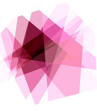 Crystal cubism art background photo