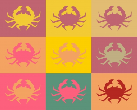 Pop Art and Crabs photo