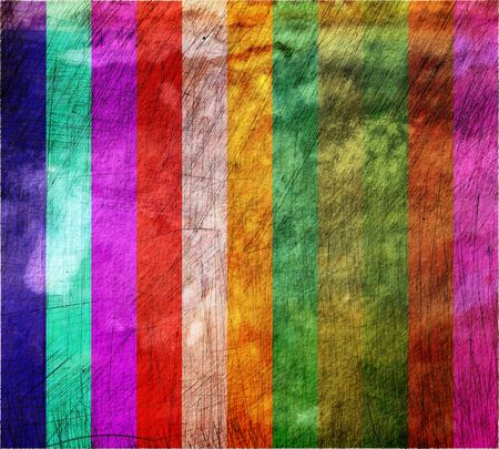 scorched: Colorful striped grunge texture for background