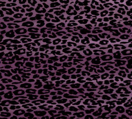 Art leopard fur over dark background photo