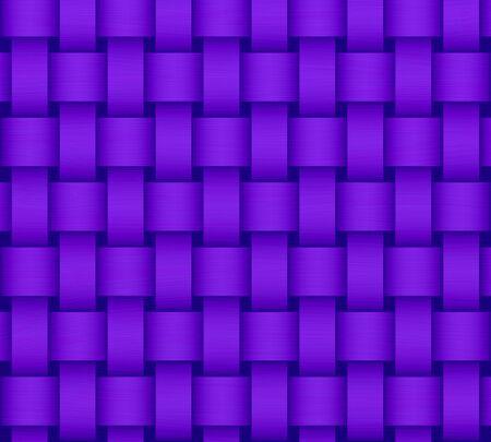 Purple wicker background photo