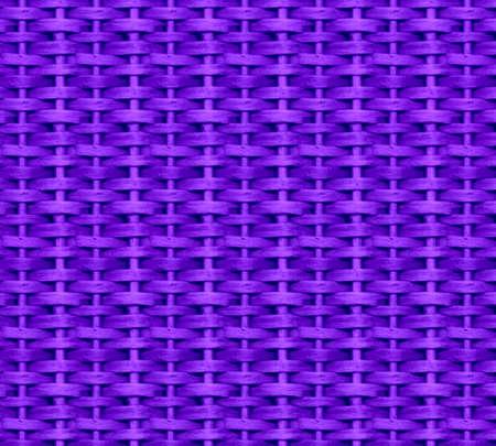Violet wicker background photo