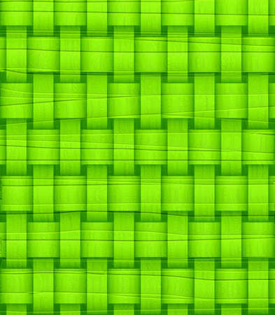Lime Green wicker background photo