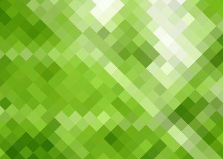 Green diamond abstract seamless background photo
