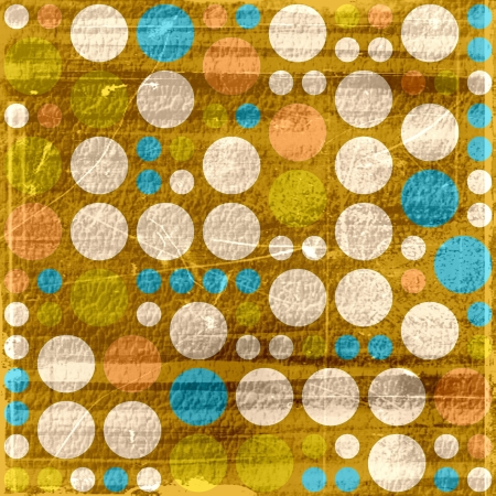 retro polka dots grunge texture abstract background  photo