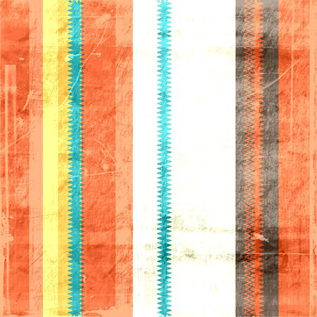 Vintage stripes grunge background with space for your text  photo