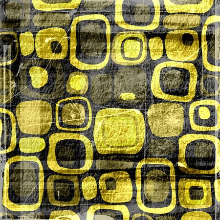 oldest: Retro black and yellow grunge texture background