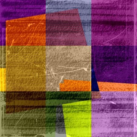 Retro colorful grunge texture background Stock Photo - 15064980