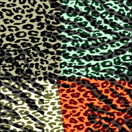 abstract zebra grunge texture background photo