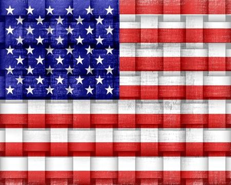 American Flag Vintage Stock Photo - 15064727
