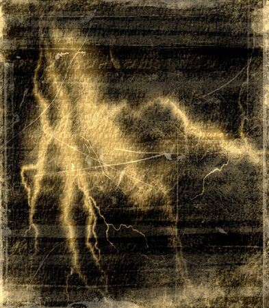 Old texture background made from lightning photo