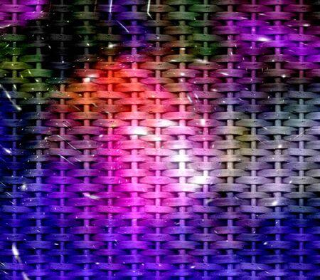Galaxy wicker texture background photo