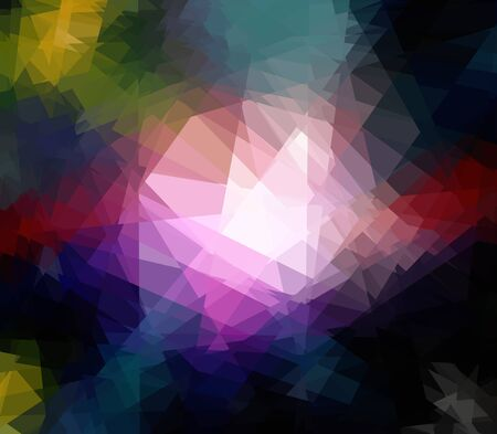 Abstract technical background made from diamond photo