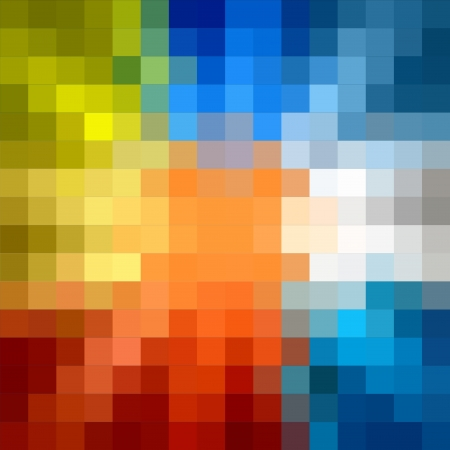 Colorful square seamless background