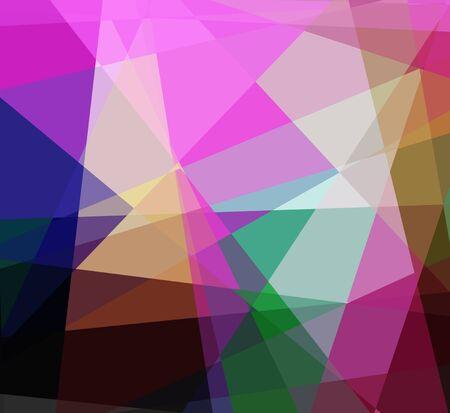 diamong: Colorful cubims diamond ray light for design