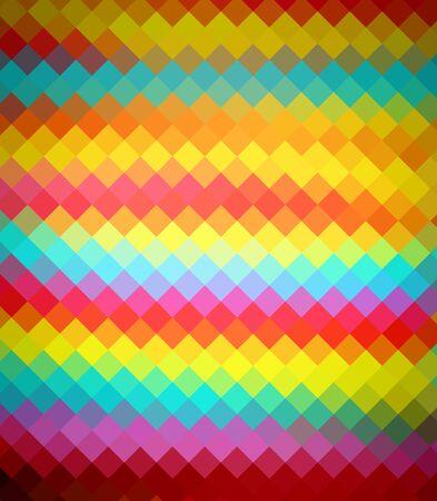 diamong: Colorful diamond ray light for design