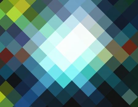diamong: Cubism diamond ray light for design