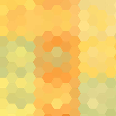 diamong: Abstract technical background made from hexagons Stock Photo