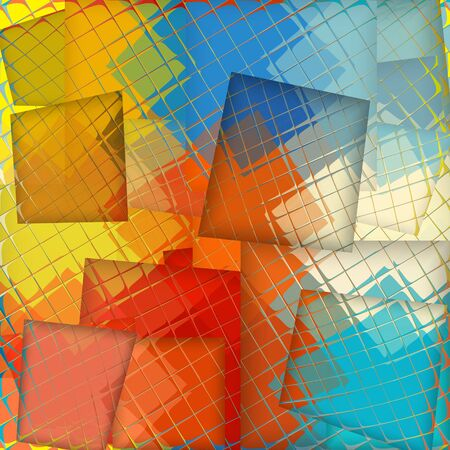 Abstract colorful background made from mosaic photo