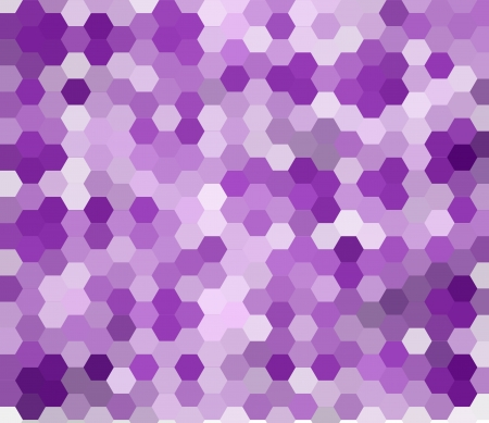 Abstract purple background made from hexagons photo