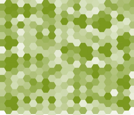 Abstract lime green background made from hexagonal photo