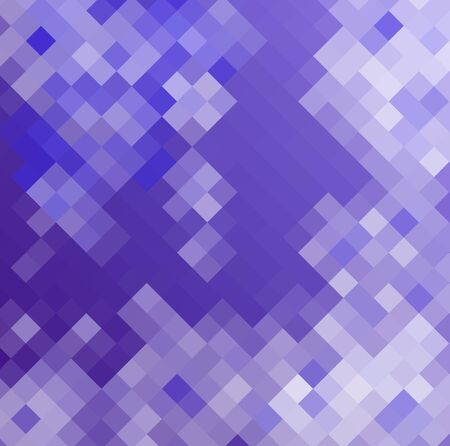 diamong: Abstract purple background made from mosaic Stock Photo