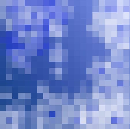 Abstract blue background made from mosaic photo