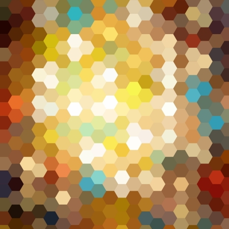 Abstract technical background made from hexagonal Stock Photo - 15242870