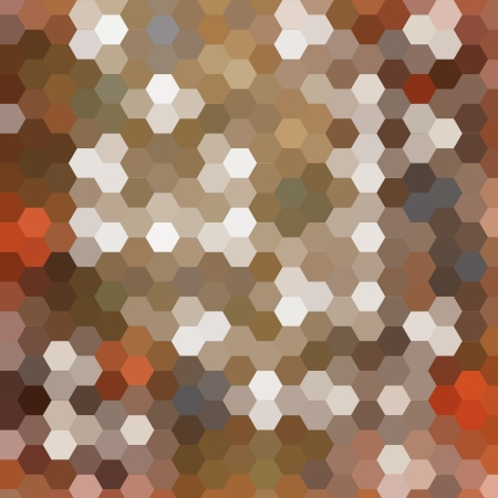 Abstract technical background made from hexagonal photo