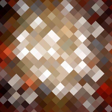 diamong: Abstract technical background made from mosaic