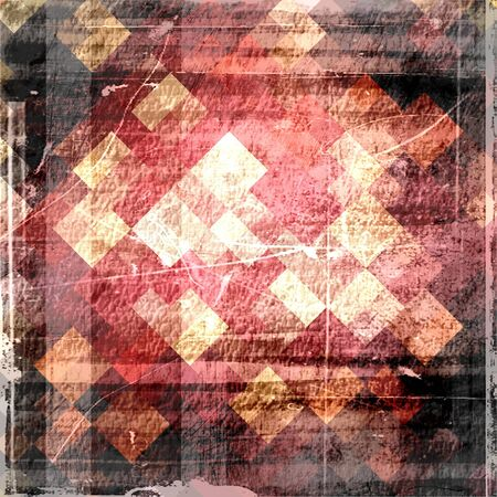 Vintage grunge background made from mosaic photo