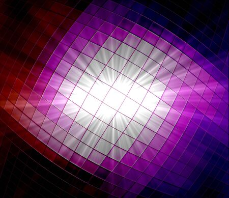Abstract ray star light background made from mosaic photo