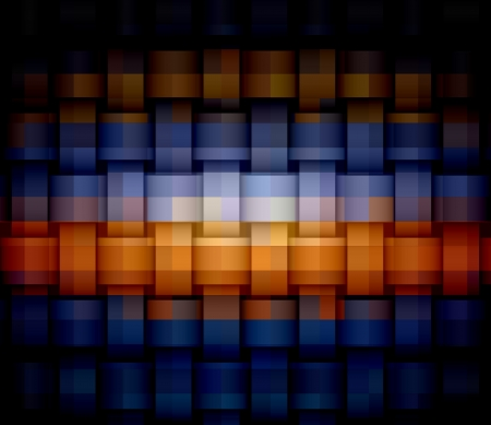 Abstract background made from square photo