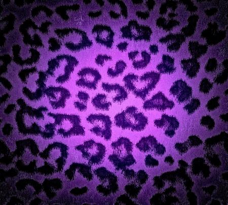 digital print: Purple Leopard Print Fur Skin