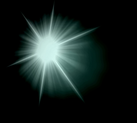 Abstract ray stars light background  photo